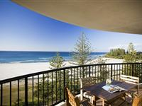 View from Balcony  – Mantra Coolangatta Beach