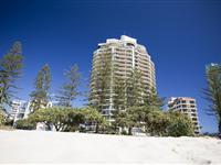 Exterior from Beach – Mantra Coolangatta Beach